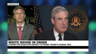 Former FBI chief Mueller to lead Trump Russia probe   A positive reaction from GOP & Democrats