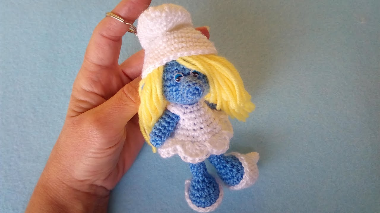 Puffetta Amigurumi Tutorial Smurfette Crochet Pitufina Crochet
