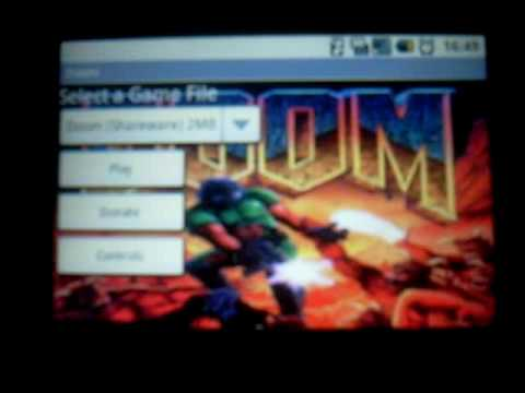Doom on Android HTC Dream