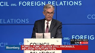 Powell Says Fed Will Act as Appropriate to Sustain Economic Expansion