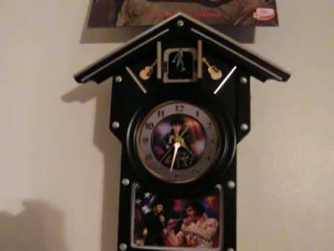 Moms Elvis Cukoo Clock
