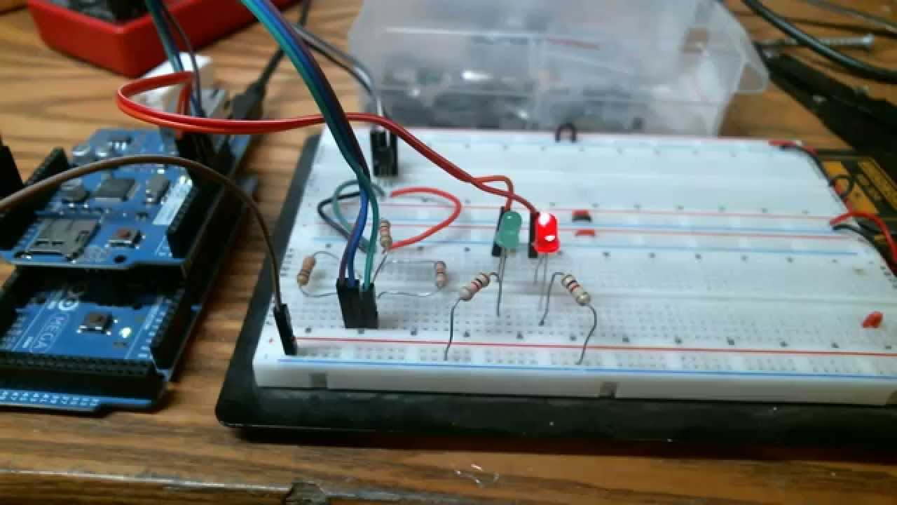 Transistor Tester Rev.2 NPN or PNP - YouTube