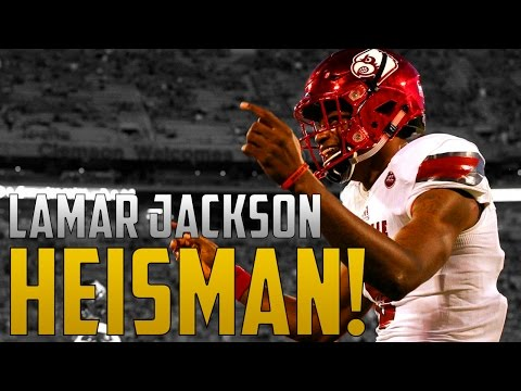 Why Lamar Jackson Deserved To Win The Heisman Trophy!!! Who Do You Think Should