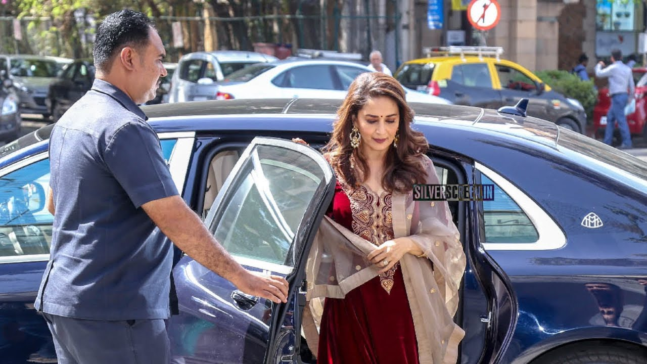 Madhuri Dixit Car Collection - Mercedes Maybach - YouTube