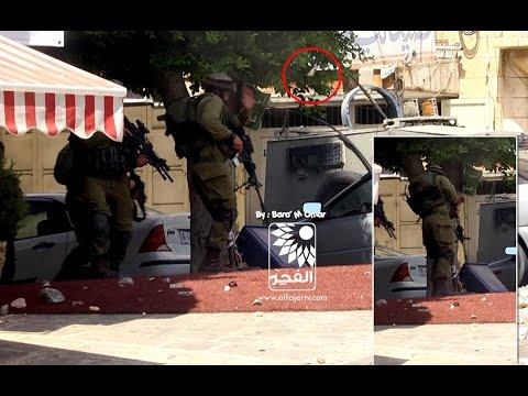 أبرز اللقطات خلال مواجهات اليوم مع الاحتلال في طولكرم