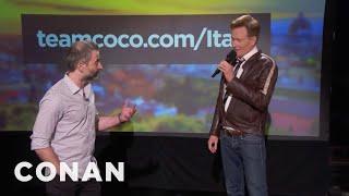 Q&A: Conan's Wedding Present For Jordan