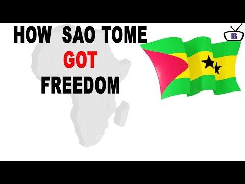 How Sao Tome and Principe got independence