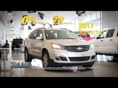 Fairway Chevrolet - 0% For 72 Months - Chevy Traverse - YouTube