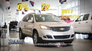 Fairway Chevrolet - 0% For 72 Months - Chevy Traverse