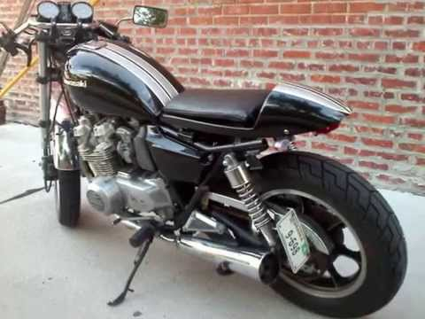 1982 Kawasaki KZ550 Cafe Racer Mean Streak For Sale