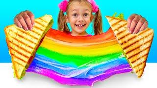 Yummy Yummy Sandwich | Nursery Rhymes & Kids Songs | Maya and Mary