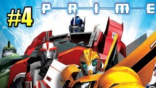 Трансформеры Прайм {Transformers Prime The Game} часть #4 — НЕМОЙ ДРУГ