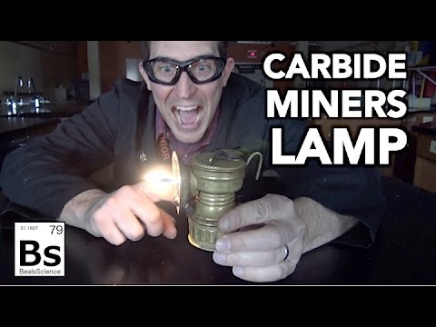 The Carbide Miners Lamp - Bringing History Back To Life!