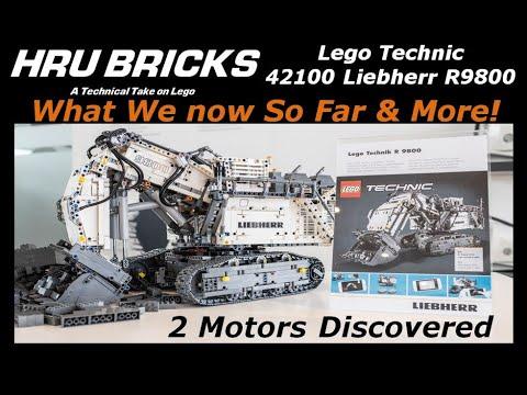 Lego technic liebherr 42100