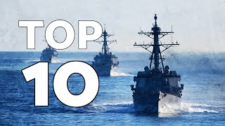 TOP 10 Naval strength by country (2019)