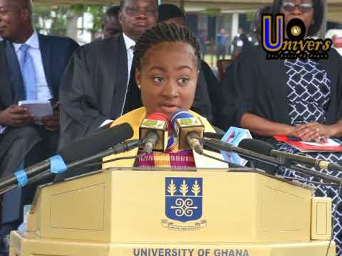 Great Speech by 2017 University of Ghana Matriculant