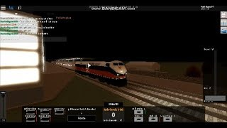 Roblox Rails unlimited UPDATE: New Harlem North Railroad Train review inbound/Outbound trains.