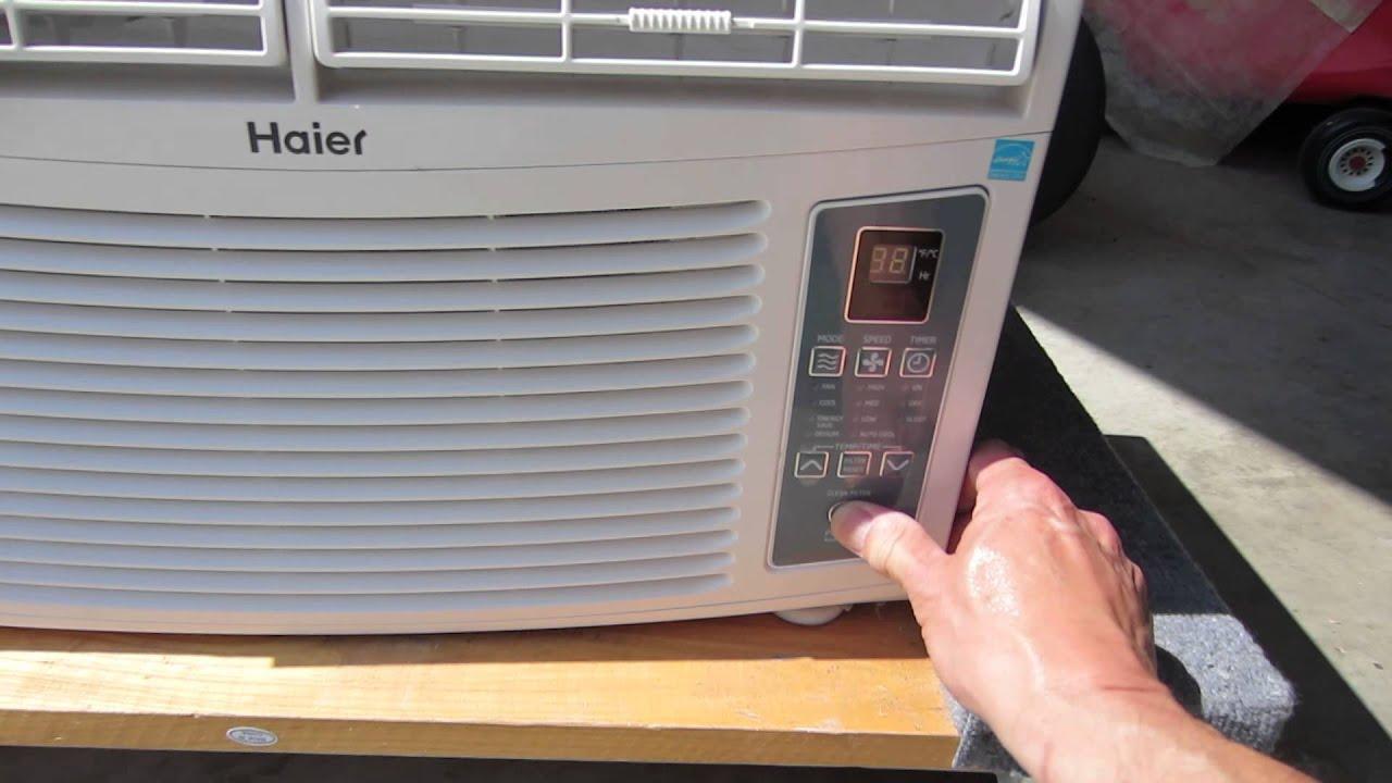 Storm Cat 800 watt generator running Haier Air Conditioner   #976B34