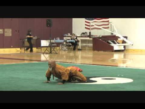 Sponsored by Kungfudirect.com Shao Lin Master 2009 USAWKF Wushu Team Trials Master Demo Shaolin