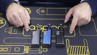 aspire Zelos 50W Kit With Nautilus 2 / Тугая затяжка - забавный формат