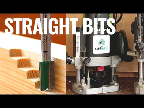 Router 101: Using straight cutters and bits with simple homemade jigs for wood joints and joinery.