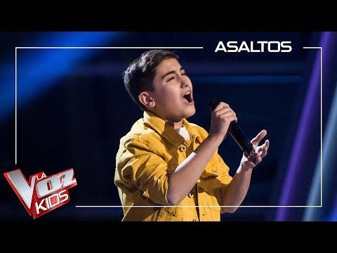 Marcos Díaz Canta 'Stone Cold' | Asaltos | La Voz Kids Antena 3 2019