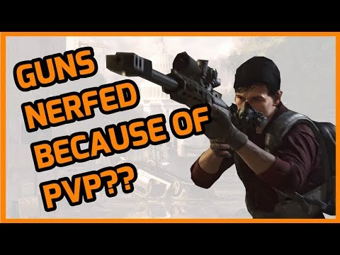 Division 2 - Model 700 is now terrible | Is PVP affecting PVE?
