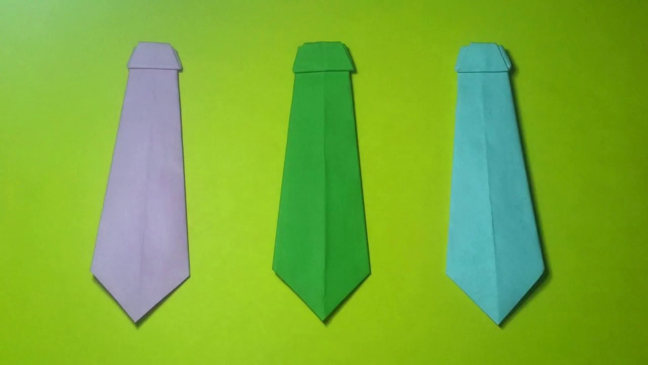 How to make a paper tie origami paper tie very easy youtube how to make a paper tie origami paper tie very easy ccuart Image collections