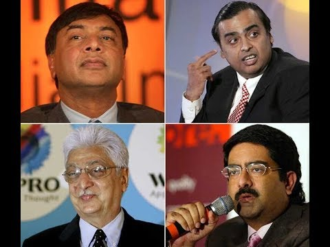 Top 20 Richest people Of  India and their company  2017