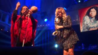 "Candy Dulfer featuring Tony Scott, ""2 Miles"", Paradiso Amsterdam, 15-02-2016"