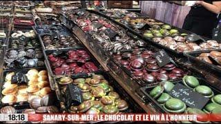 Sanary-sur-mer : le chocolat et le vin à l'honneur