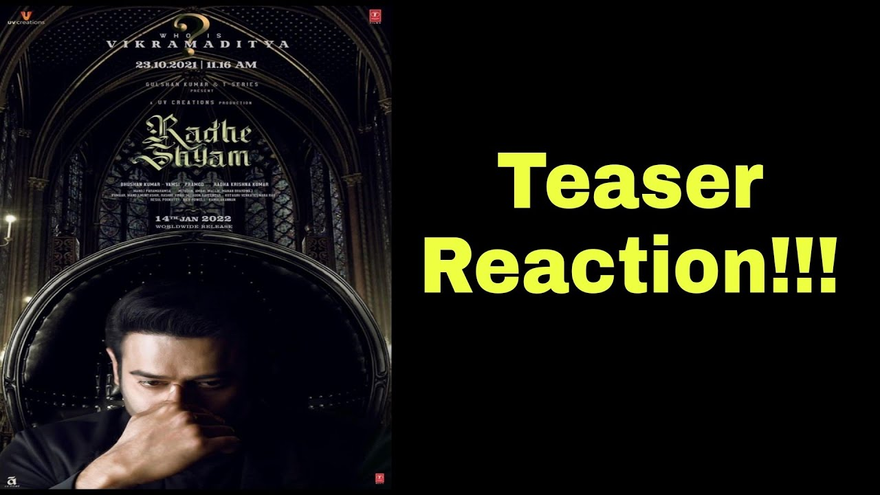 Download Prabhas as Vikramaditya Character Teaser Reaction Radhe Shyam Pooja Hedge Prabhas