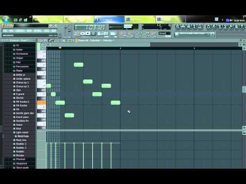 FL Studio 10 - Sample beat - Tutorial