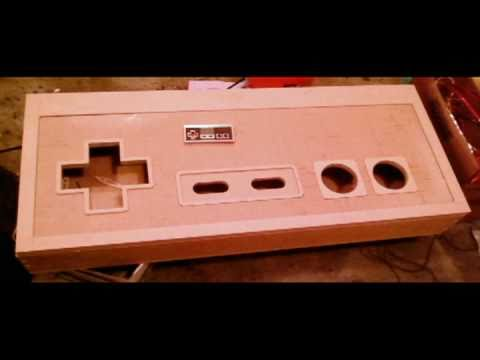 nes controller coffee table - youtube