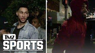 Ben Simmons & Joel Embiid: Justice For Meek Mill & LiAngelo Ball | TMZ Sports