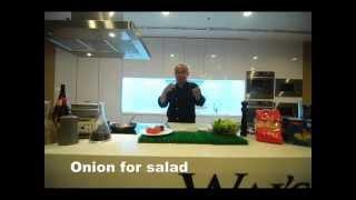 Tandoori Chicken Salad With Chef Khairul Anuar