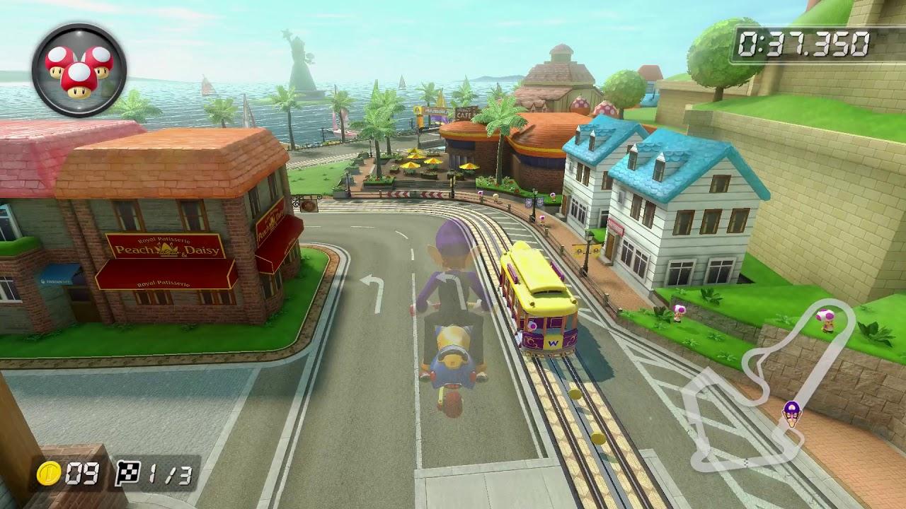 Toad Harbor 150cc 2 03 530 ピーチはぬける Mario Kart 8
