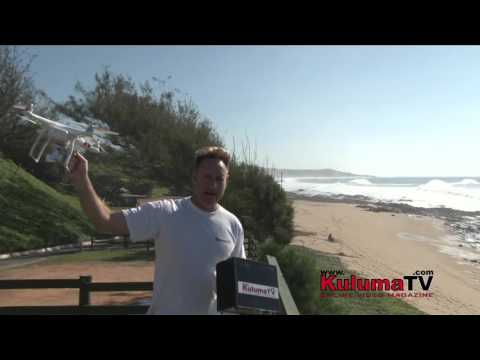Surfing South of Durban 9th April 2016 Big Swell