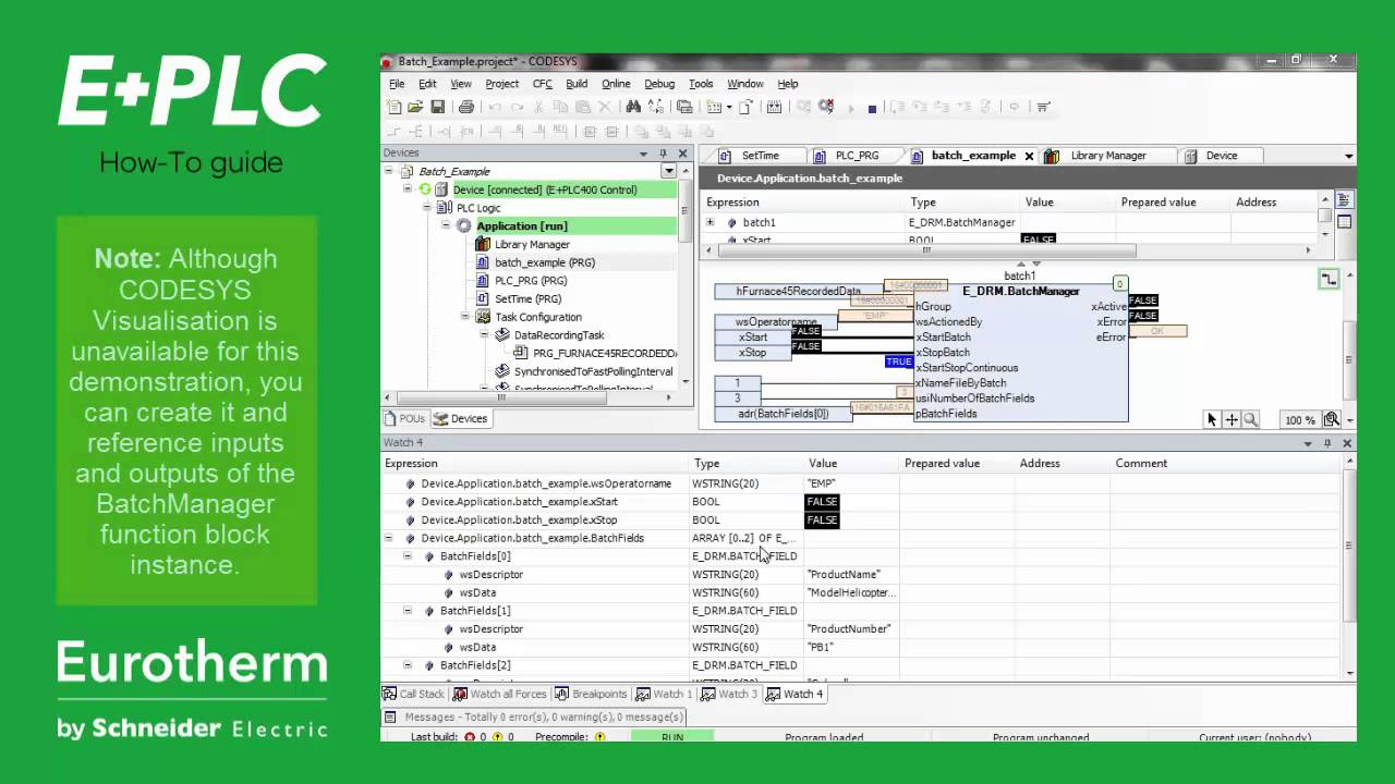 E+PLC Video Tutorials | Schneider Electric