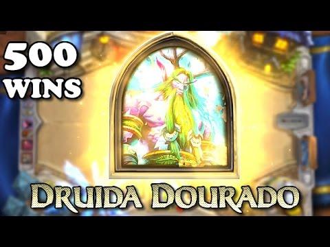 Hearthstone Druida Dourado (Golden Druid) Water Aggro Druid Standard 500 Wins