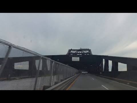 Pulaski Skyway from Jersey City to Newark,New Jersey