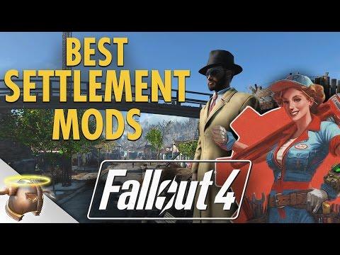 The best Fallout 4 SETTLEMENT MODS!