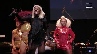 Teebillz surprises Tiwa Savage on Stage at AFRIMMA 2017 (Full Video)
