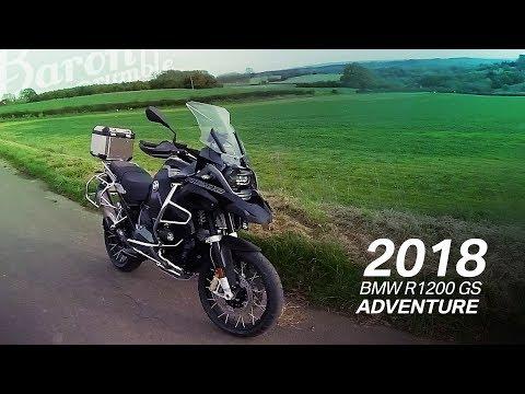 Back in Black. 2018 BMW R1200 GS Adventure