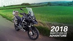 Back in Black. 2018 BMW R1200 GS Adventure