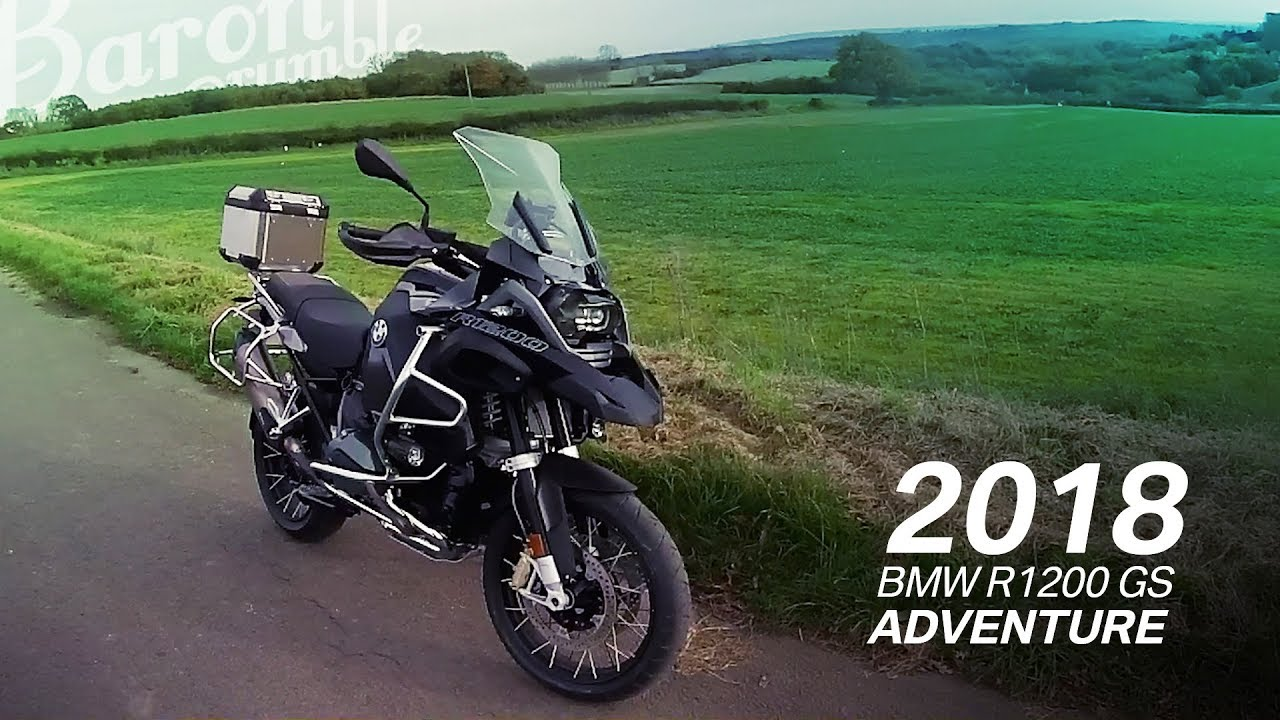 Back in Black. 2018 BMW R1200 GS Adventure - YouTube