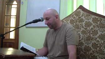 Шримад Бхагаватам 5.1.9-10 - Сатья дас