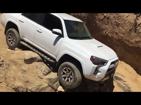 Testing RSG sliders on 4Runner