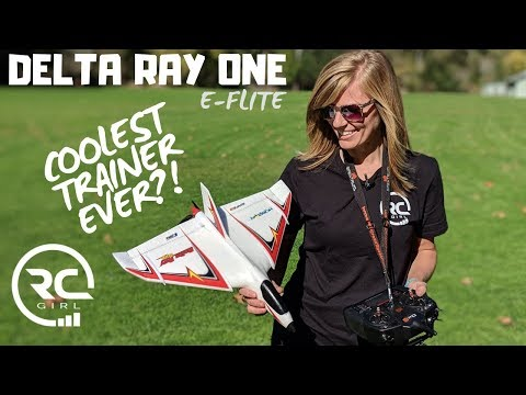 COOLEST TRAINER EVER!?     E-Flite Delta Ray One