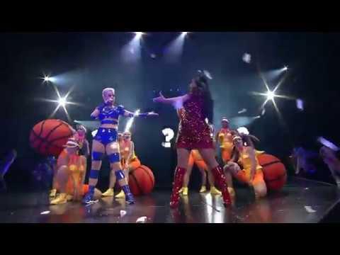 Witness tour BR: Katy Perry feat. Gretchen ao vivo em São Paulo HD